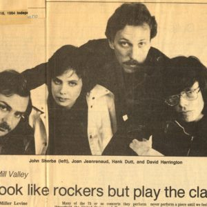 A Thousand Thoughts - Rockers Headline 1984 Courtesy of KPAA